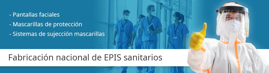 Fabricantes nacionales de EPIS sanitarios