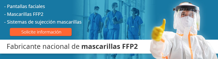 Fabricantes nacionales de mascarillas FFP2 y EPIS sanitarios